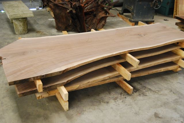 Unfinished Walnut Slab Jpg