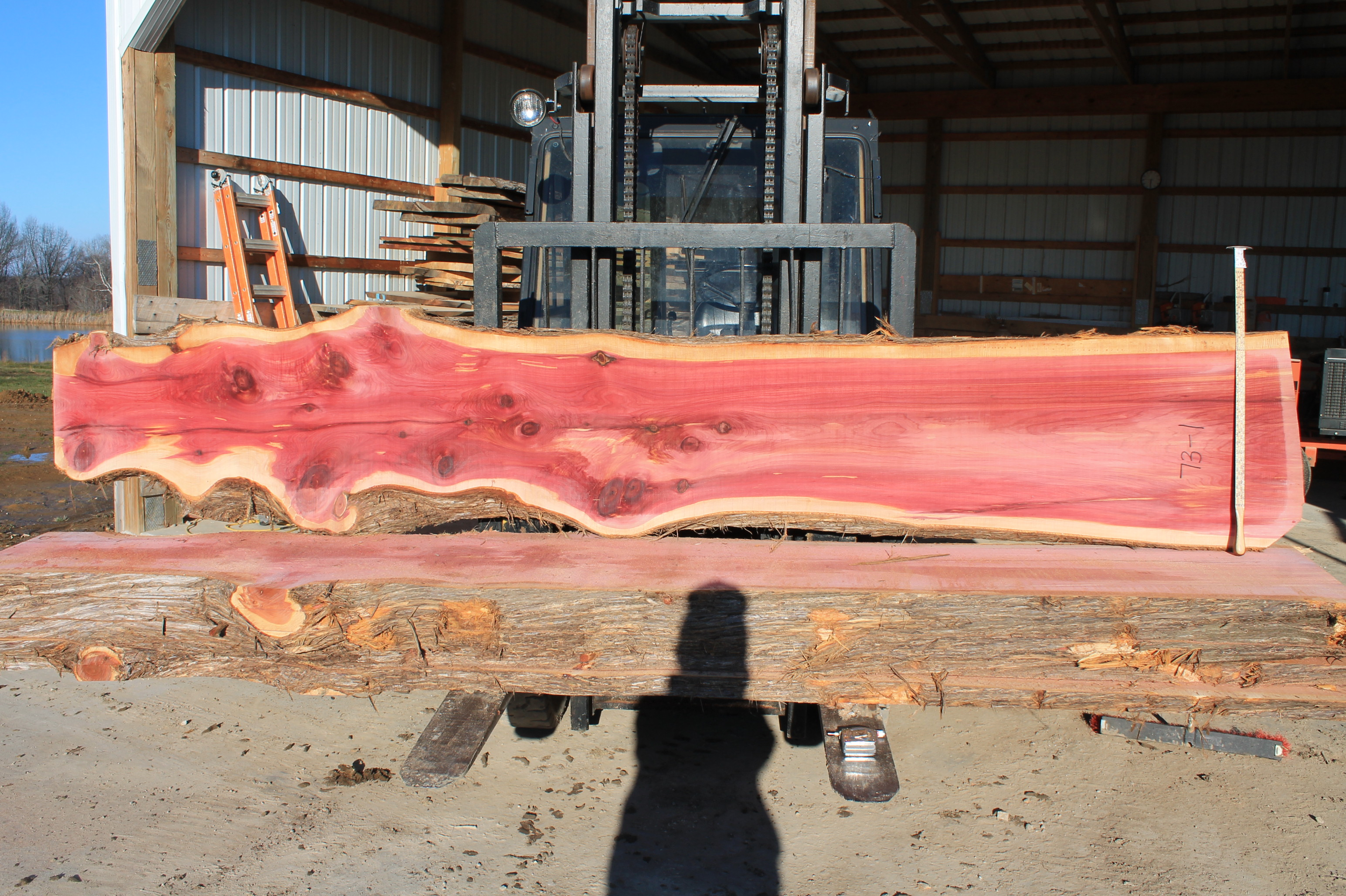 Western red cedar table top western red cedar live edge table top - 73 1 Aromatic Red Cedar Jpg