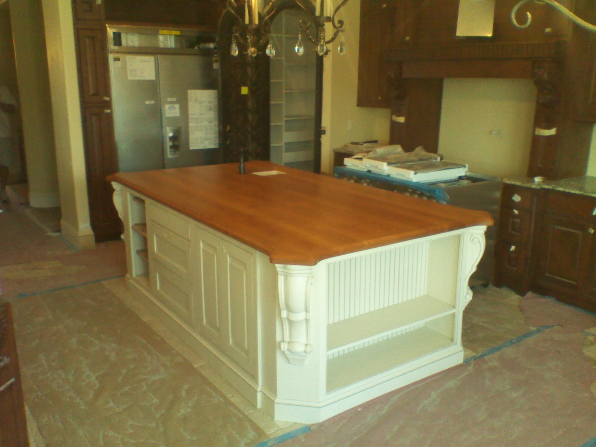 S + L Millworks Cherry Countertop Finished With Odies Oil